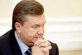 Януковича в Сумах встретили пикетом