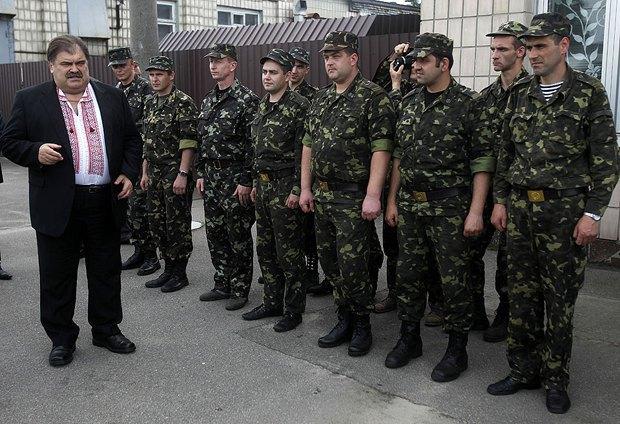 Пыд час передачі відремонтованої техніки Київському батальйону територіальної оборони