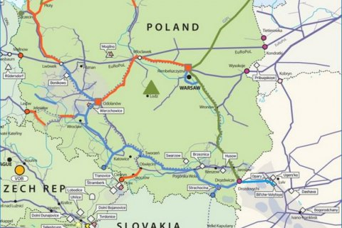 Газопровод Польша-Украина получил ТЭО