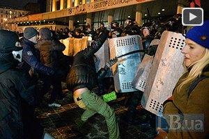 Милиция разогнала противников концерта Ани Лорак в Киеве