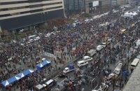 Жители Сеула снова вышли на улицы с требованием отставки президента