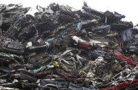 Экспорт металлолома из Украины вырос до годового максимума вопреки запрету суда