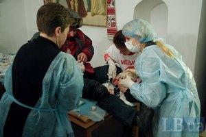 За время столкновений в Киеве пострадали более 600 человек, - Минздрав