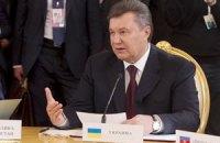 Янукович обіцяє побудувати Європу в Україні