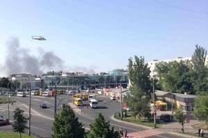 В Донецке зона боев расширилась от аэропорта в сторону ж/д вокзала (обновлено)
