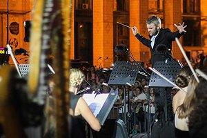 В День Независимости на Майдане прошел концерт классической музыки