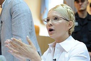 Тимошенко: Янукович не хочет пускать Украину в Европу