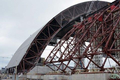Беспилотник снял территорию Чернобыльской АЭС с высоты птичьего полета