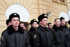 В Севастополе курсанты Академии ВМС при переходе под флаг РФ спели гимн Украины