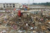 Число жертв штормов и торнадо на востоке Китая выросло до 98 человек