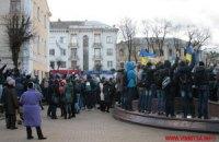 В винницком горсовете самораспустилась фракция ПР, а советскую площадь переименовали в Героев Майдана