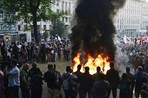 На марш националистов в Киеве вышло 3 тыс. человек