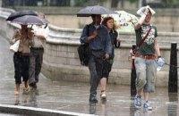 В воскресенье в Киеве временами дождь, до +17