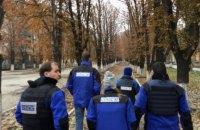 ОБСЕ зафиксировала 1095 взрывов на Донбассе 10 ноября