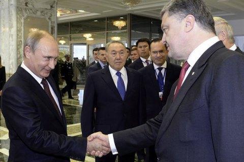 Путин поздравил сновогодними праздниками лидеров стран СНГ, кроме Порошенко