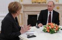 Путин и Меркель в Москве обсудят ситуацию в Украине