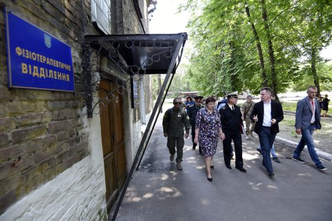 Наливайченко призвал вернуть военный госпиталь в Днепре на баланс Минобороны