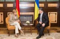 Порошенко и Меркель снова поговорили об урегулировании ситуации на Донбассе