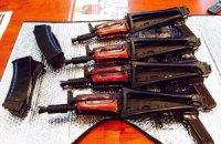 Милиция задержала в Одесской области торговцев оружием