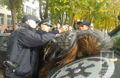 """В Одессе полиция задержала """"Чубакку"""""""