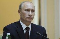 Путин прилетел в Киев