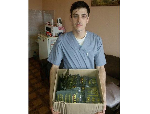 Денис Адонин в Артемовской больнице