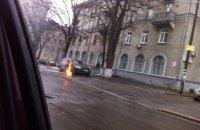 В Киеве подожгли автомобиль известного адвоката