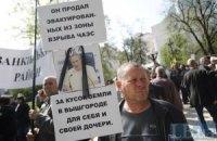 В Донецке чернобыльцы требовали встречи с Януковичем