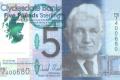 5 фунтов стерлингов, выпущенных шотландским Клайдсдейл банком