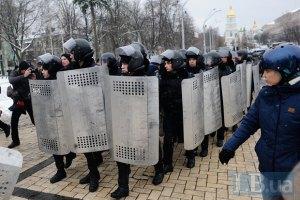 """Нардеп """"Свободы"""" заявила, что ее не пропустили в помещение ОИК в Киеве"""