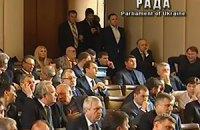 Раскол парламента