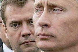 Россияне стали меньше доверять Медведеву и Путину