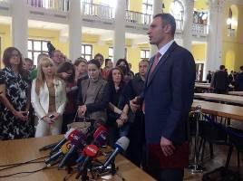 Кличко надеется стать главой КГГА после инаугурации Порошенко
