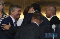 Янукович прилетел в Запорожье открывать ахметовскую ветроэлектростанцию