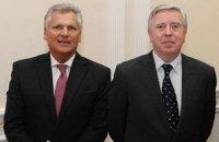Кокс и Квасьневский прибыли к Луценко
