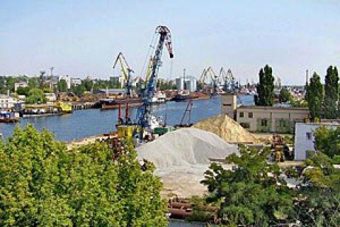 ВХерсонском морском порту проводятся обыски