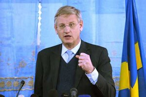 Министр иностранных дел Швеции приветствует переговоры между украинской властью и оппозицией