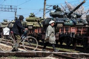 В сторону Украины движется колонна российской военной техники, - СНБО