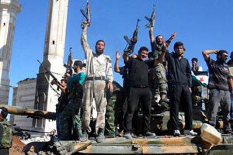 США приостановили программу поддержки повстанцев в Сирии, - Reuters