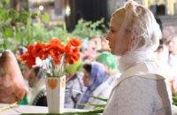 Тимошенко у Филарета помолилась за Украину
