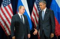 Обама потребовал от Путина выполнять минские соглашения