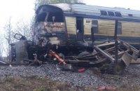 Три человека погибли в результате столкновения поезда с грузовиком в Винницкой области