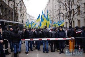 Суд оставил под арестом задержанного на Банковой Притуленко