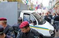 Тимошенко отвезли в СИЗО
