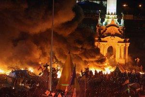 На Майдане выключили свет