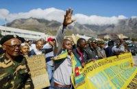 В Кейптауне протестовали против нападений на иностранцев
