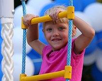 В 2011 году ПР  открыла на Днепропетровщине 258 детских площадок