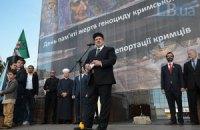 Чубаров надеется, что Путин сломает челюсть об Украину