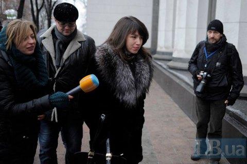 Чорновол готова отказаться от авторства закона о конфискации миллиардов Януковича, чтобы он был принят