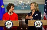 Клинтон и Эштон потребовали от Януковича честных выборов